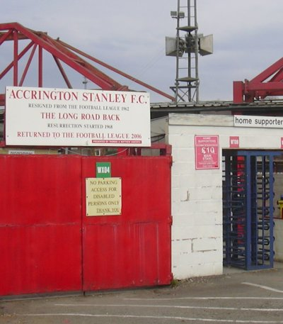The Crown Ground, Accrington