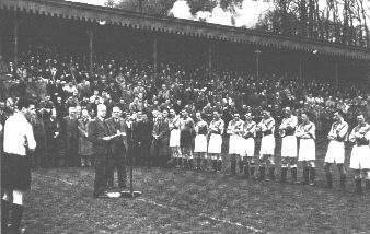 Frank Adams gifts Loakes Park to the club, 1947